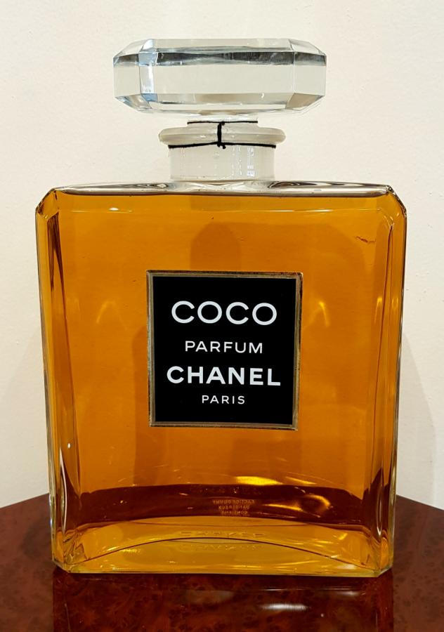 CHANEL COCO GIANT PERFUME BOTTLE 1984, More Informations...