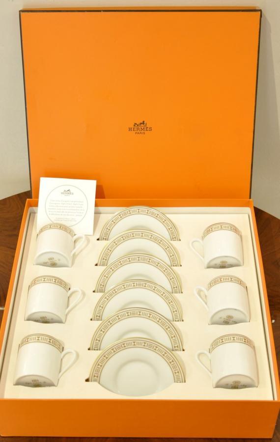Hermès Paris Porcelain Set With Box , More Informations...