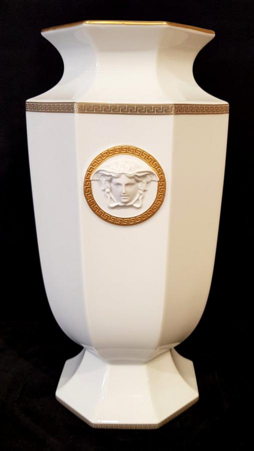 Rosenthal Porcelain Vase Versace Gorgona Model , More Informations...