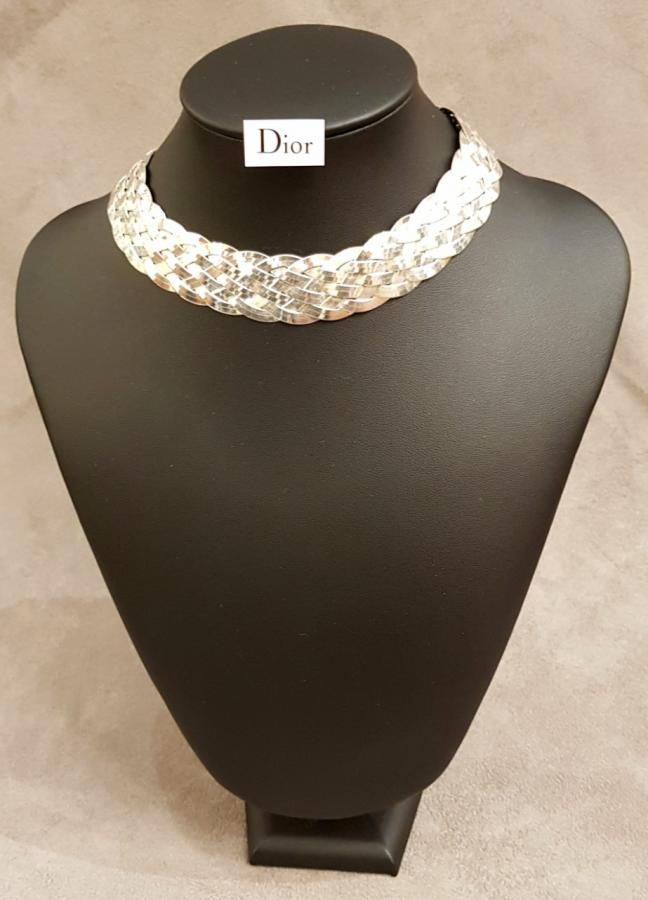 CHRISTIAN DIOR & JOHN GALLIANO COLLIER EN ARGENT, Plus d'infos...