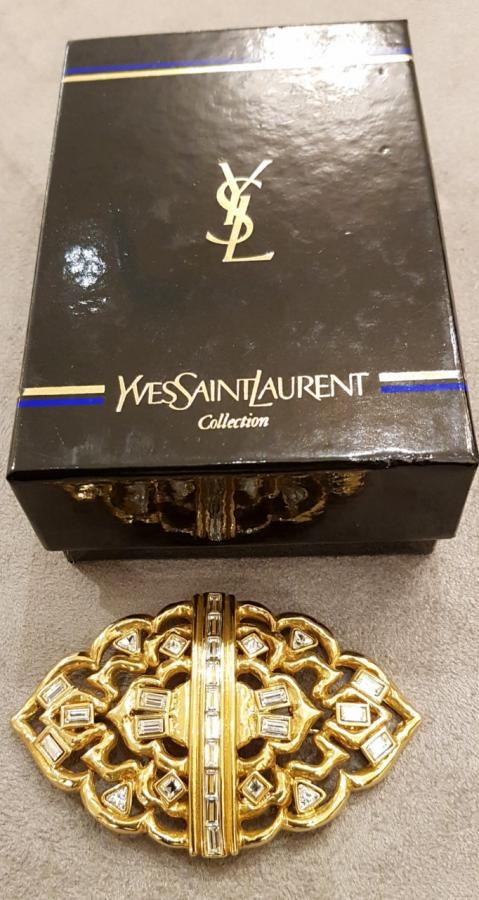 YVES SAINT LAURENT BROCHE , Plus d'infos...