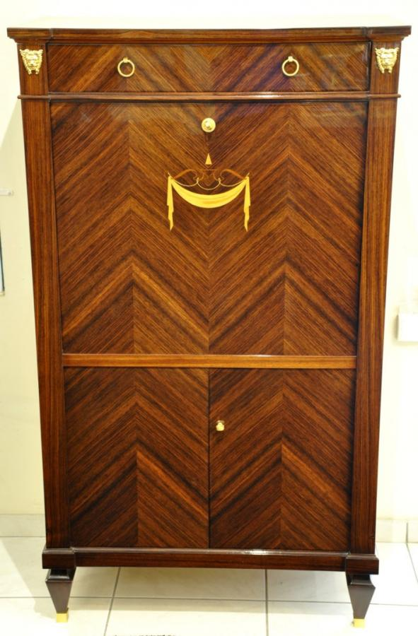 André ARBUS   secretary cabinet Indian rosewood circa 1945, More Informations...