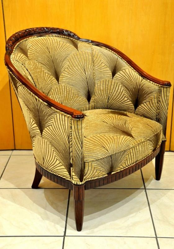 André GROULT PAIR of ARMCHAIRS  ART DECO 1920-1925, More Informations...