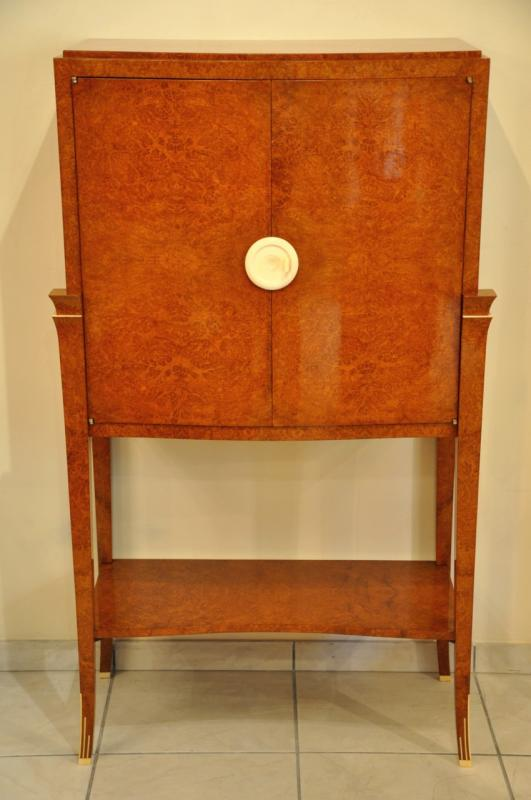 CHRISTIAN KRASS  AMBOYNA CABINET 1930, More Informations...