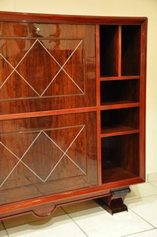 CHRISTIAN KRASS BAR BOOKCASE ART DECO 1930, More Informations...