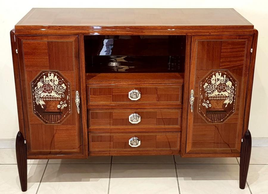 D.i.m Petit & Joubert Chest Of Drawers Art Deco 1920-1925, More Informations...