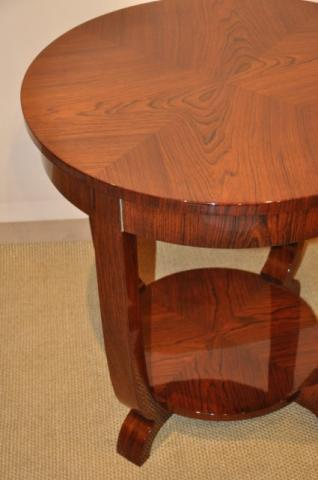 ERIC BAGGE TABLE in rosewood ART DECO period 1930, More Informations...