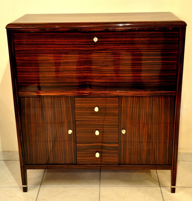 FRANCIS JOURDAIN SECRETAIRE MACASSAR  ART DECO 1930, More Informations...