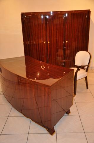 JULES LELEU  ART DECO CABINET OFFICE, More Informations...