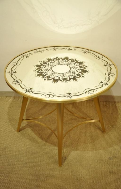 JULES LELEU Attributed  to A COFFEE TABLE 1945-1950, More Informations...