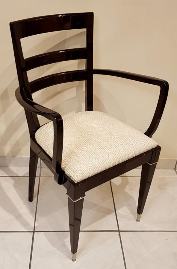 Jules Leleu Bridge Chair 1940-1950 , More Informations...