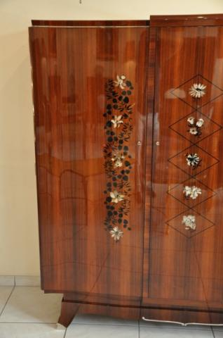JULES LELEU CABINET MARQUETRY 1930-1940, More Informations...