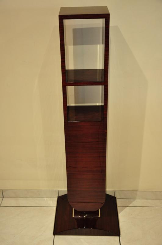 JULES LELEU COLUMN in ROSEWOOD ART DECO 1930, More Informations...