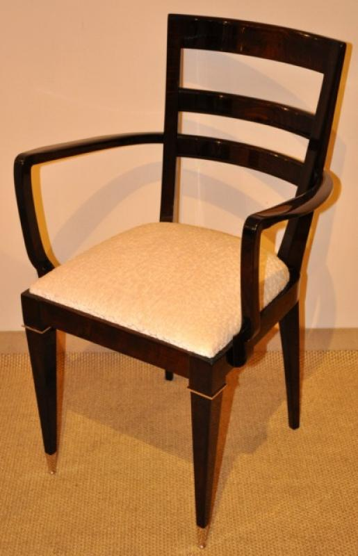 JULES LELEU PAIR OF ARMCHAIRS  1940-1950, More Informations...