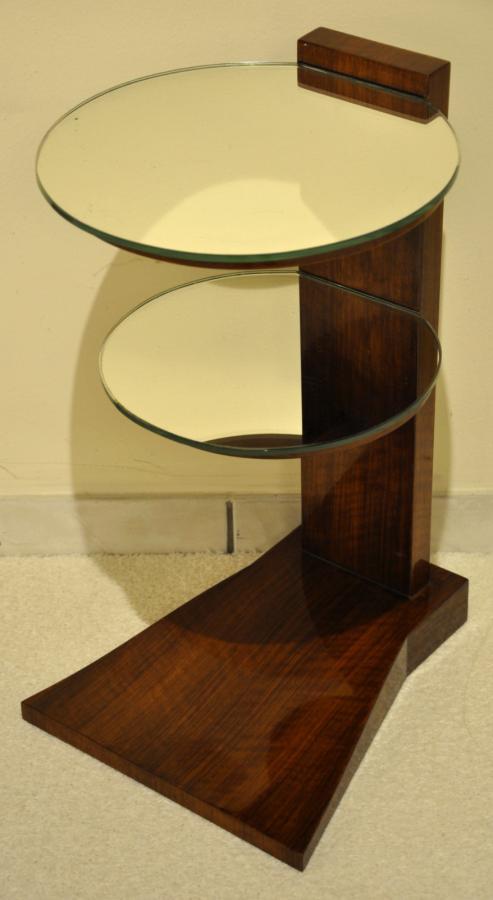 Jules Leleu Pedestal Model Eye Art Deco Period 1933 , More Informations...