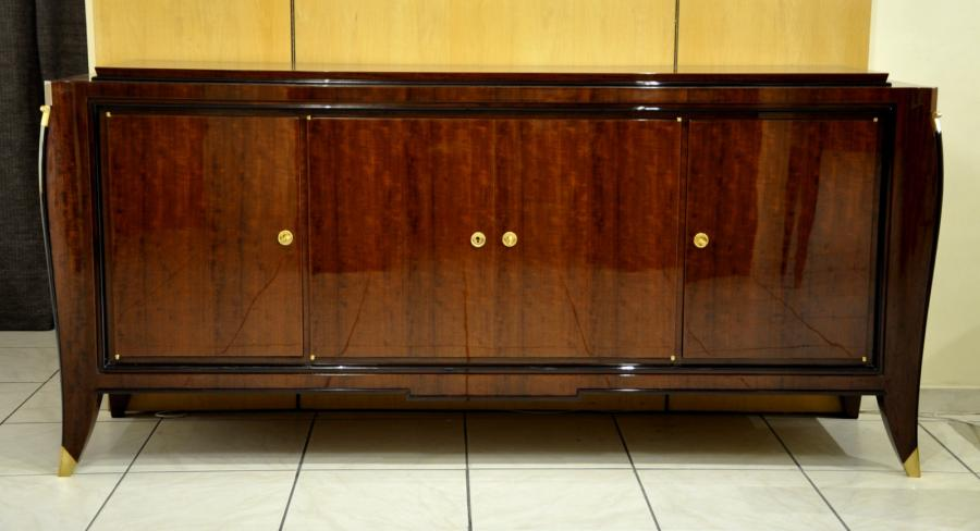 Maurice Rinck Art Deco Sideboard 1935-1940, More Informations...