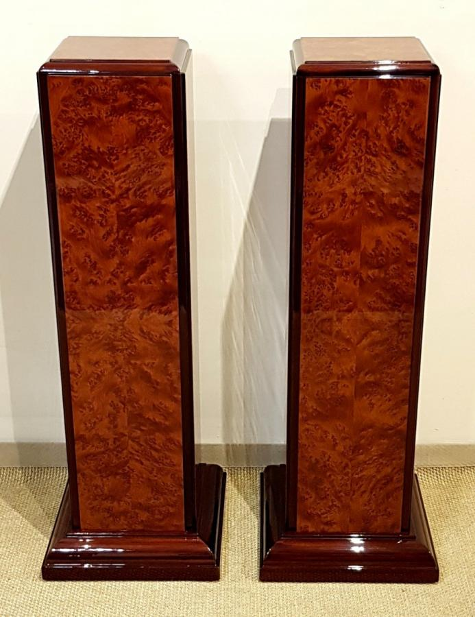 Pair Of Art Deco Columns 1930 , More Informations...