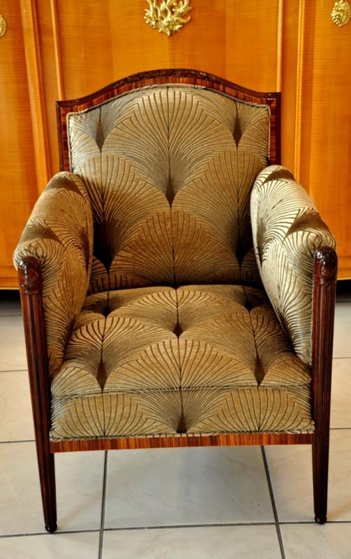 PAUL FOLLOT PAIR OF ARMCHAIRS ART DECO 1920-1925, More Informations...