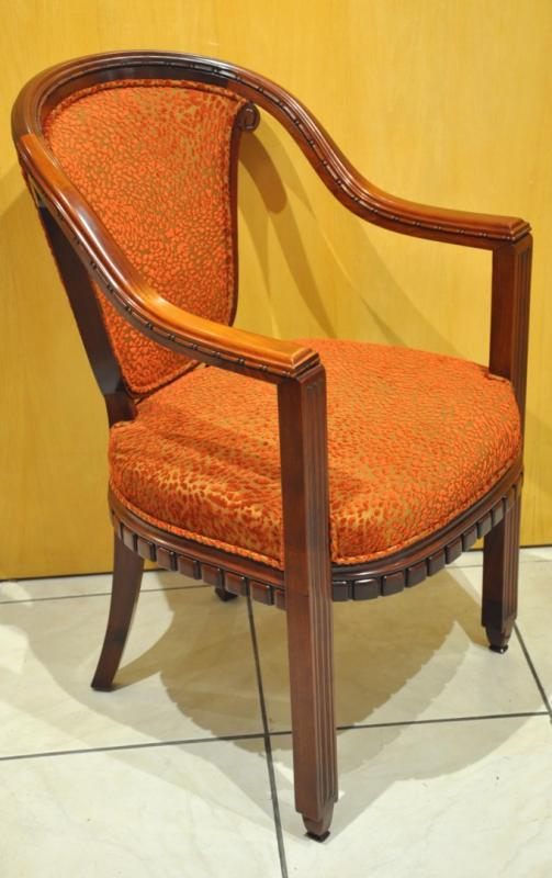 PAUL FOLLOT POMONE PAIR OF ARMCHAIRS ART DECO 1920-1925, More Informations...