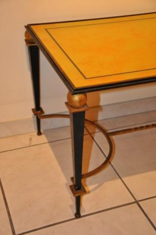 RAMSAY IRON COFFEE TABLE  1940, More Informations...