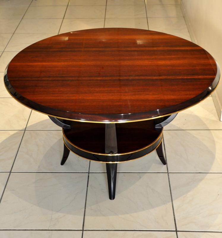 René Prou ​​coffee Table Rosewood Art Deco 1930-1935 , More Informations...