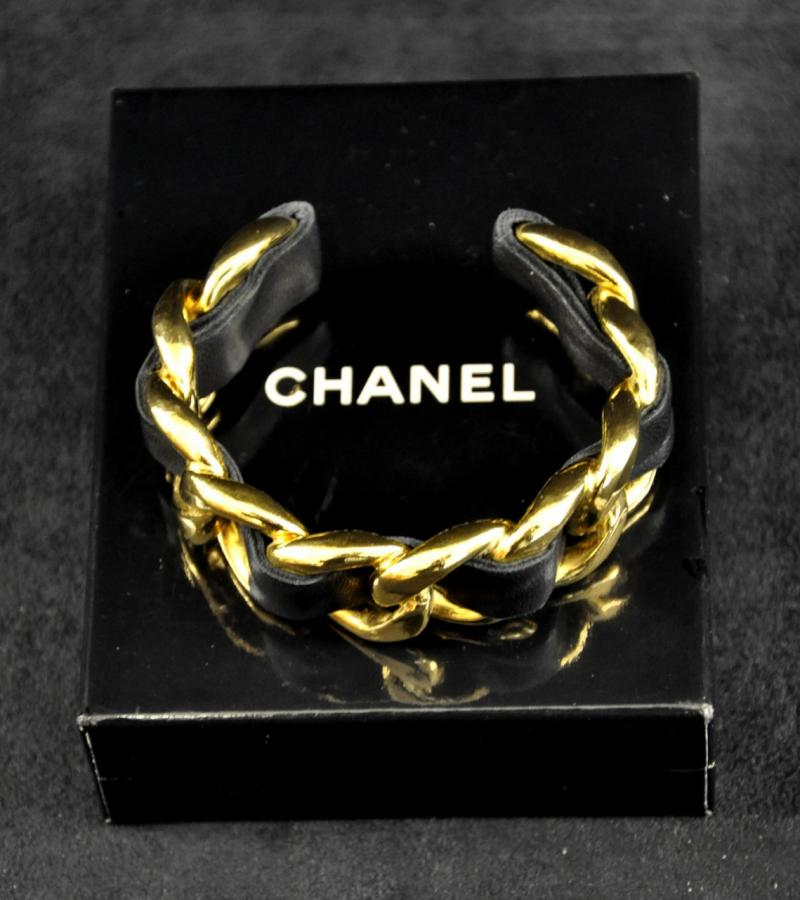 Chanel Gold Plated Bracelet, More Informations...