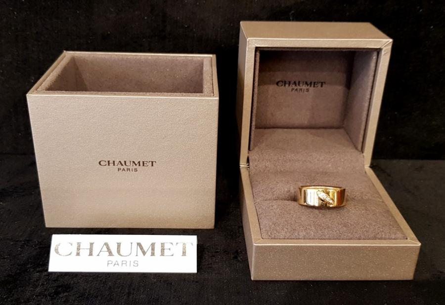 Chaumet Paris Link Ring Gold & Diamonds , More Informations...