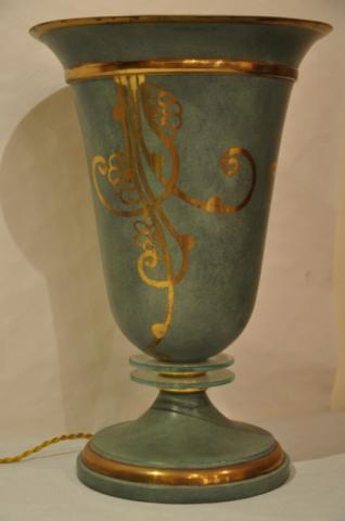GENET  MICHON DINANDERIE LAMP ART DECO, More Informations...