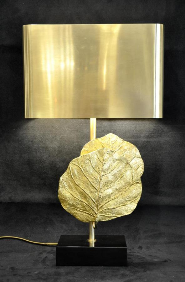 Charles House Lamp Sculpture Guadeloupe Bronze 1965 , More Informations...