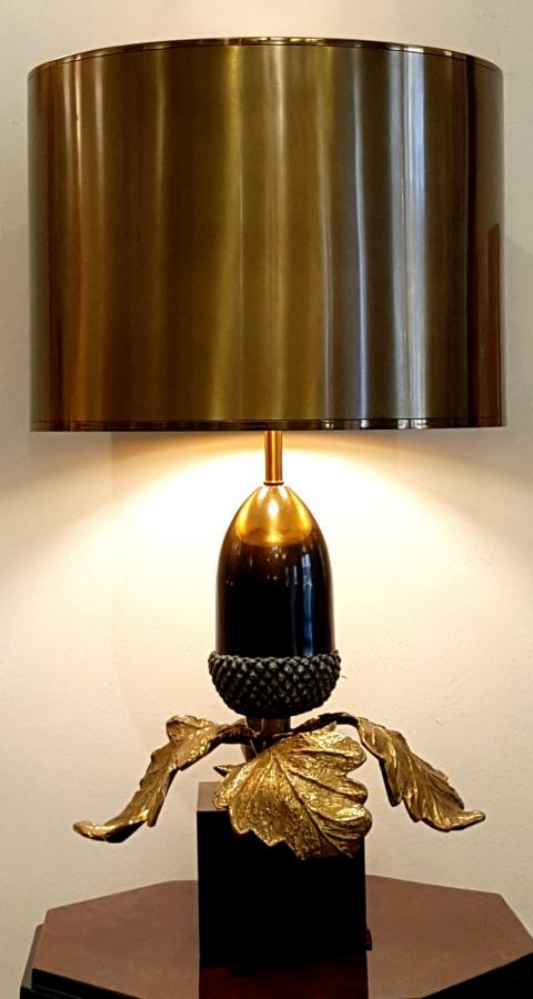 Christiane Charles Lamp Sculpture Model OAK Bronze, More Informations...