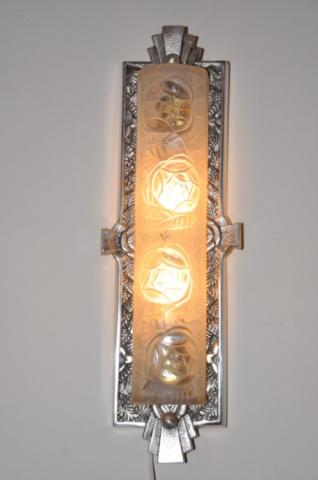 DEGUE pair of sconce ART DECO, More Informations...