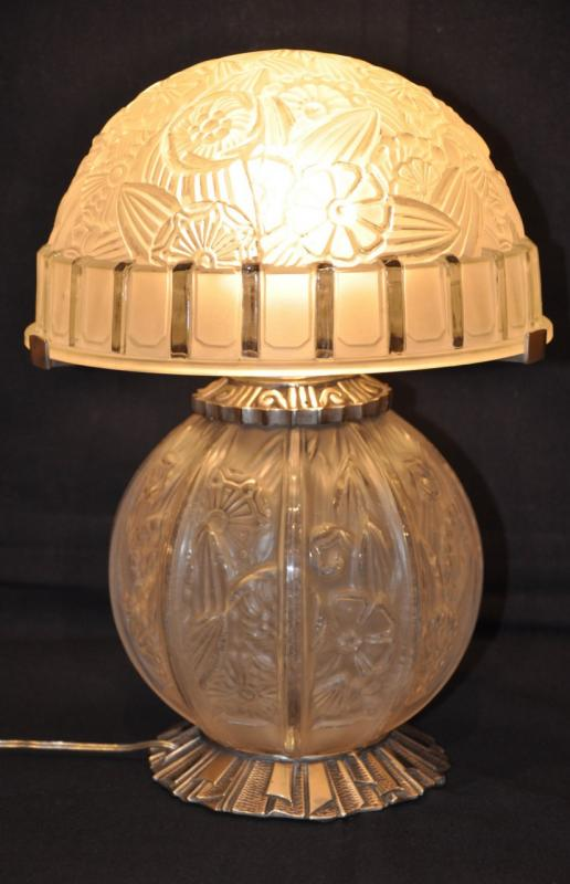 HETTIER & VINCENT LAMP ART DECO 1930, More Informations...