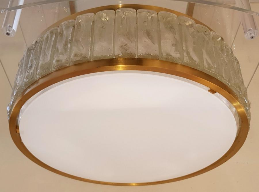 Jean Perzel Ceiling Light Model Necklace From The Queen Design 1970 , More Informations...