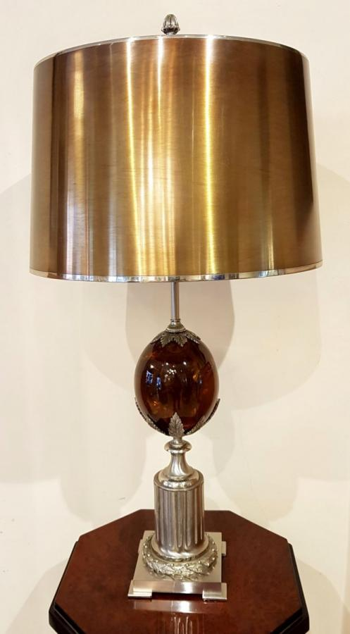 Maison Charles Lamp Resin Fractal Design 1970, More Informations...