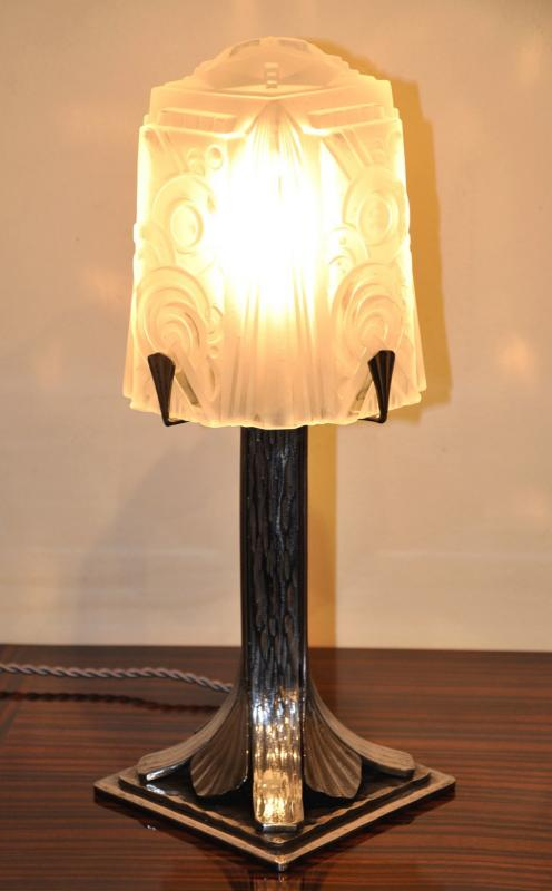 MULLER FRERES LAMP ART DECO 1930, More Informations...