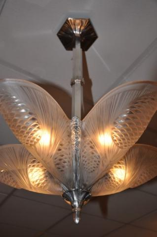 Noverdy chandelier art deco 1925 1930 for Miroir art deco 1930