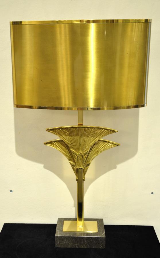 Maison Charles Lampe Sculpture Byblos Bronze 1965 , Plus d'infos...
