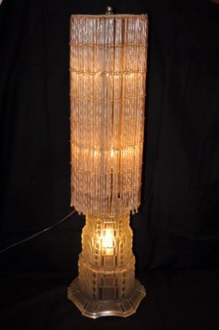 SABINO RARE lampe ART DECO  Cascade, Plus d'infos...