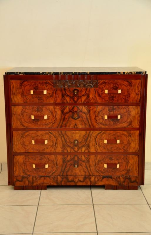MAURICE DUFRENE COMMODE ART DECO 1925-1930, Plus d'infos...