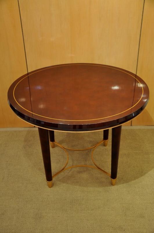 SPADE BATISTIN TABLE EN LAQUE CIRCA 1940-1950, Plus d'infos...