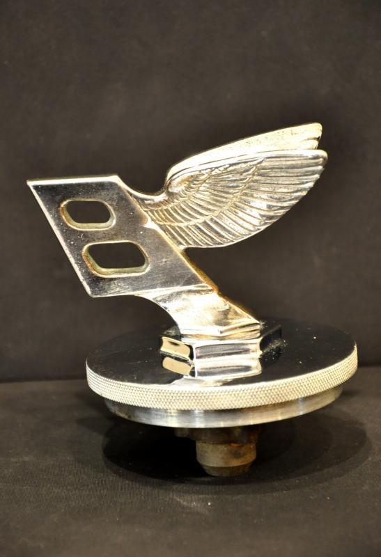 Bentley Derby 1934 3,5 litres Bouchon de Radiateur Art Déco, Plus d'infos...
