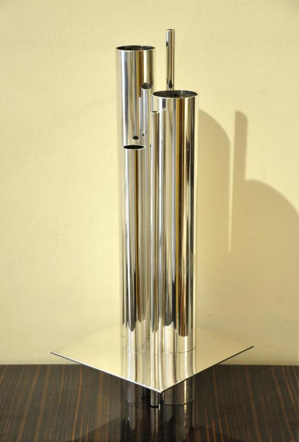 Gio PONTI CHRISTOFLE GALLIA VASE ORGUE CIRCA 1950, Plus d'infos...