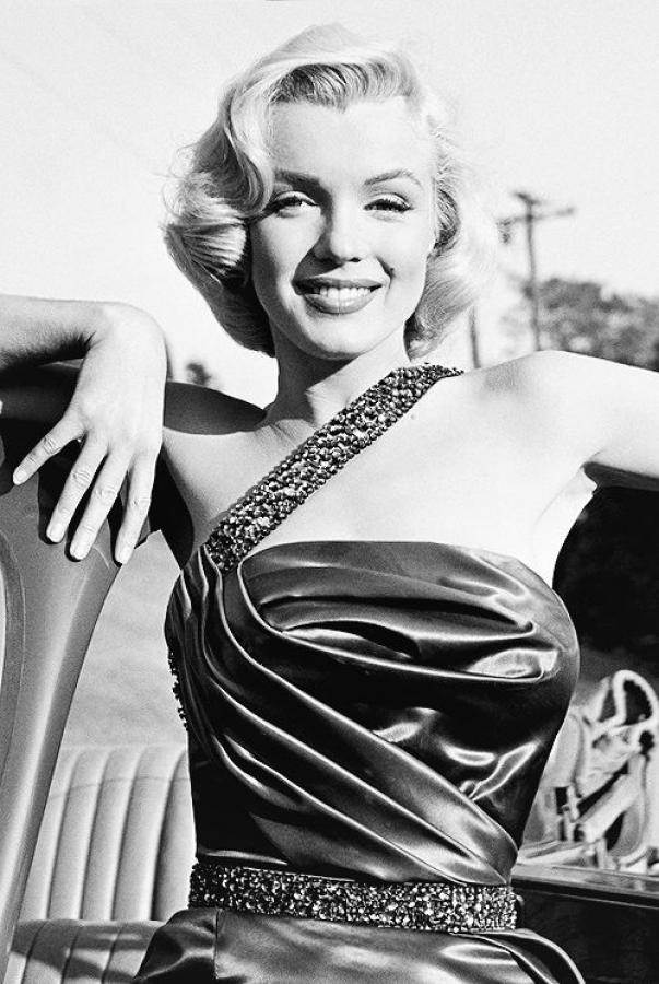 Frank Worth Marilyn Monroe Photo Silver Print From 1953 , More Informations...