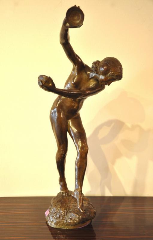 Laurence Dupuy Sculpture Bronze Art Déco 1920-1925 , Plus d'infos...