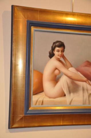 DUFLOS ROBERT ART DECO PASTEL, Plus d'infos...