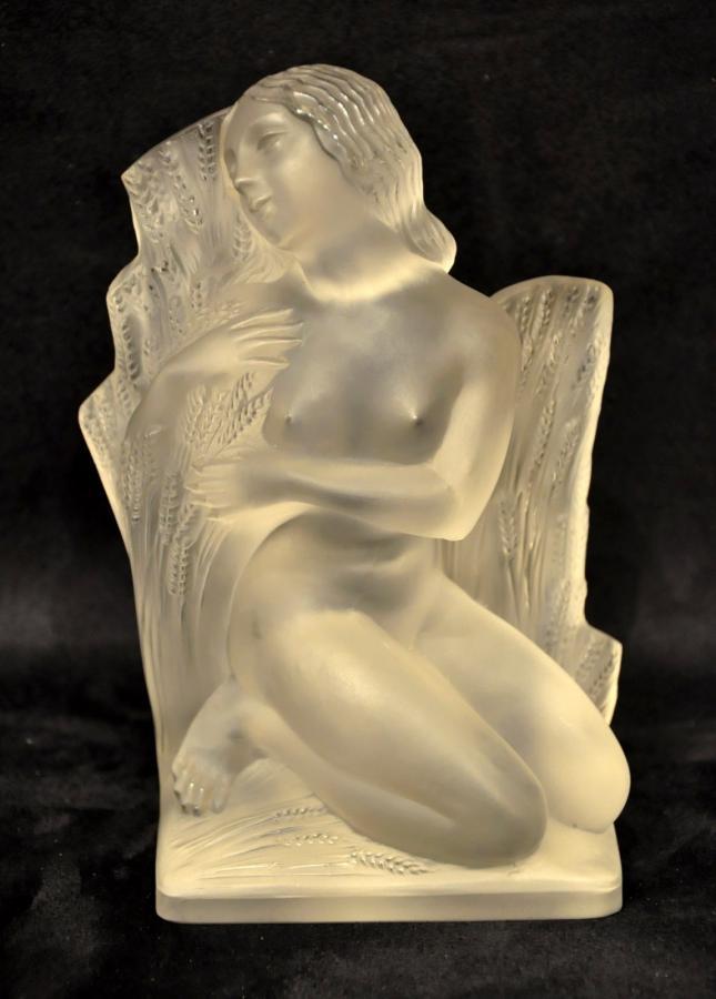 Lalique Statuette Eté Surtout 4 Saisons Circa 1960, Plus d'infos...